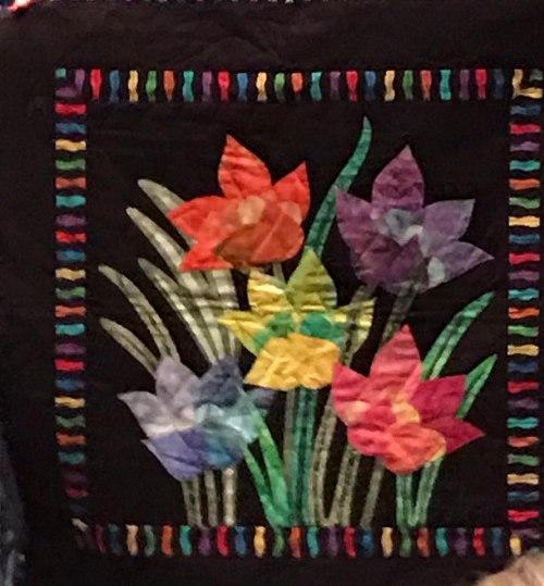 BarbB's Tulip Quilt