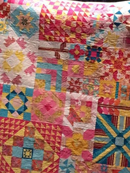 BarbFreeland's Moda Blockhead quilt