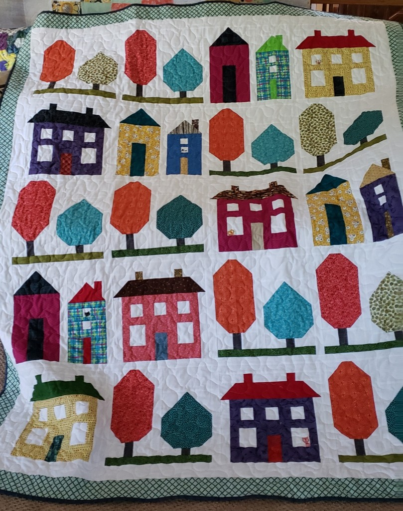 Kathy R's  House Quilt