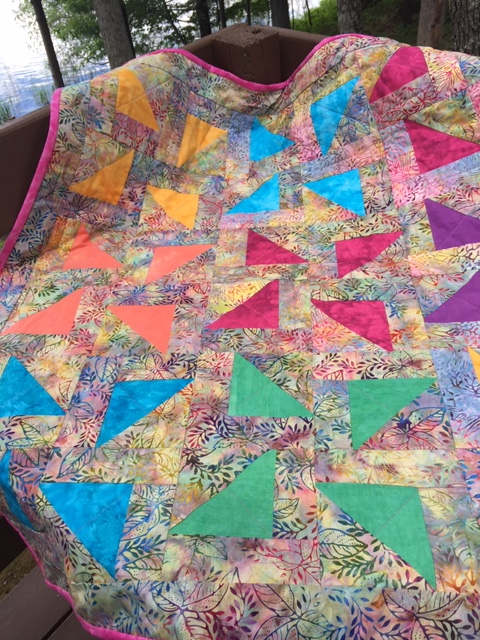 Ann P: My latest baby quilt!